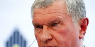 Head of Russian state oil firm Rosneft Igor Sechin